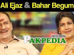 Ali Ejaz and Bahar Begum in Mazak raat