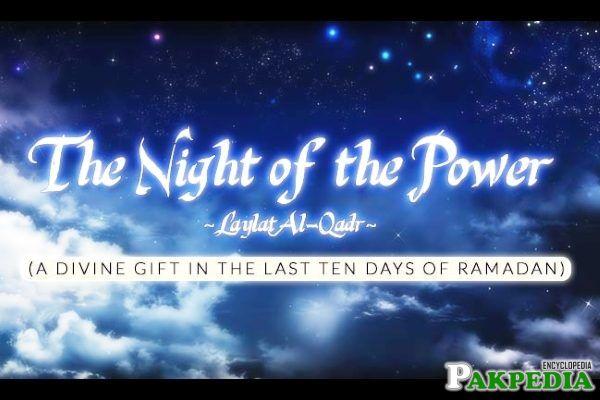 laylatul Qadr Islamic Event