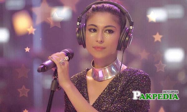 Meesha Shafi As a Singer