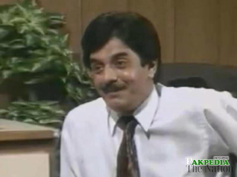Jamshed, a long-established artist of Pakistani television