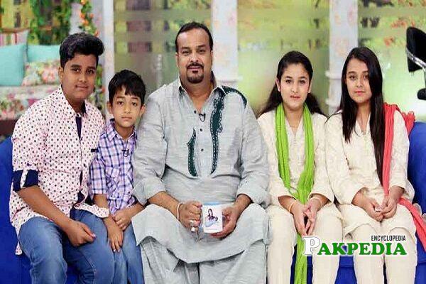 Amjad Sabri Family