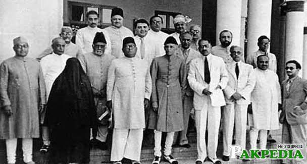 Allama Muhammad Iqbal with Muhammad Ali Jinnah