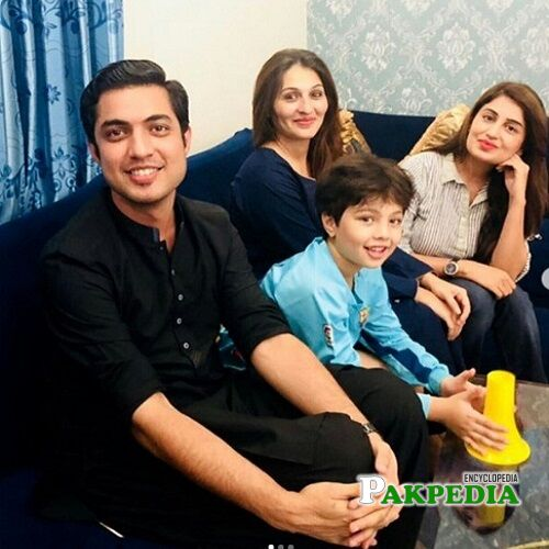 Iqrar ul Hassan Family