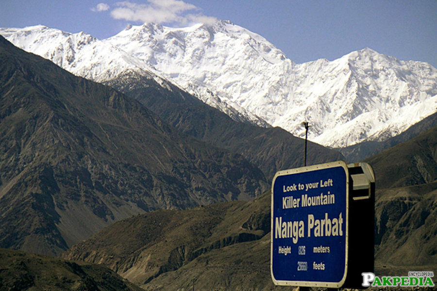 Himalayas way to Nanga Parbat