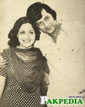 With Waheed Murad