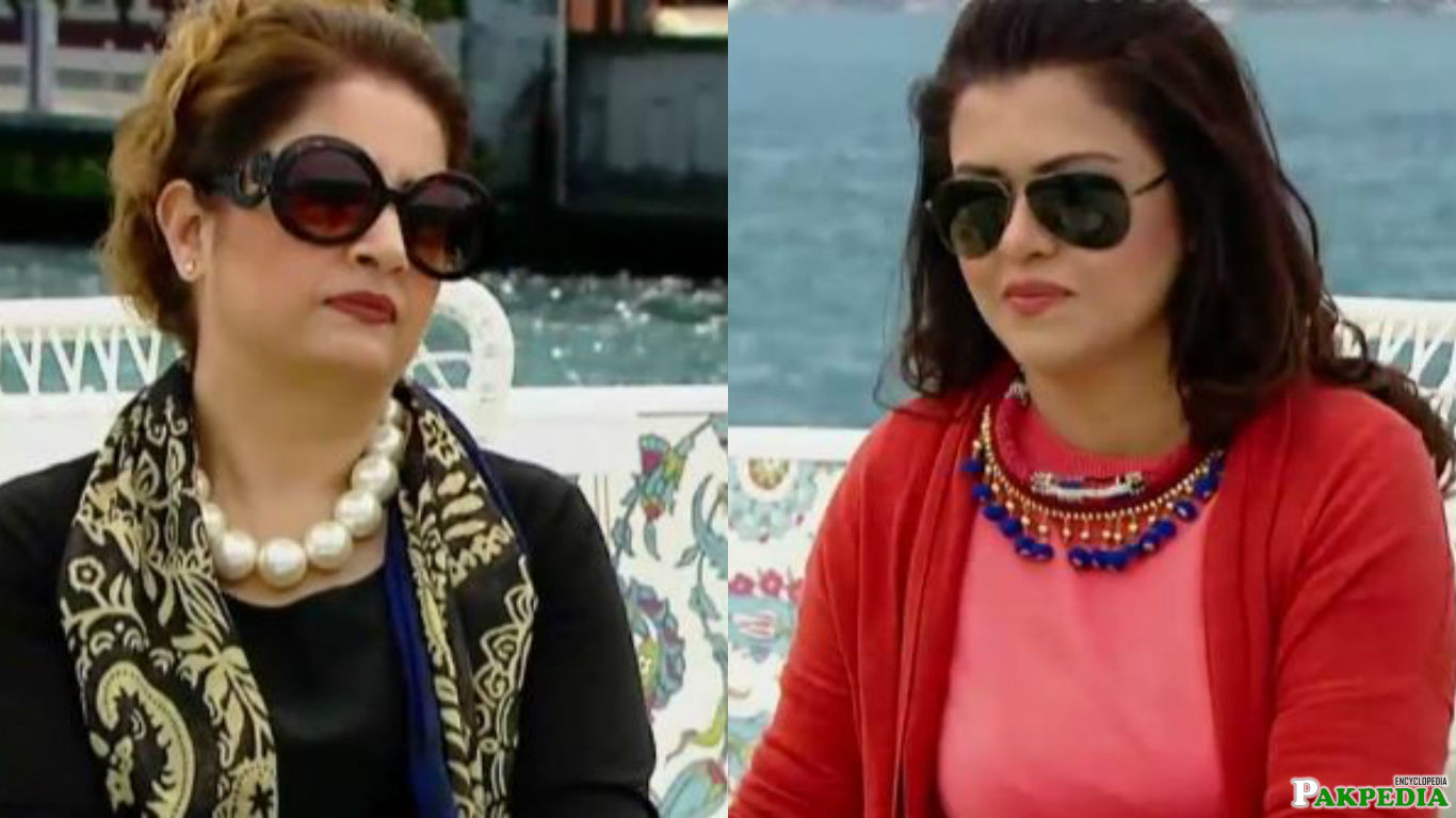 In show of Maria Wasti