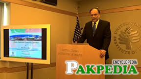 Ahsan Iqbal, Minister for Planning, Development & Reform for a discussion on China Pakistan Economic Corridor (CPEC)