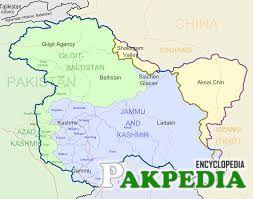 Map of Jammu Kashmir