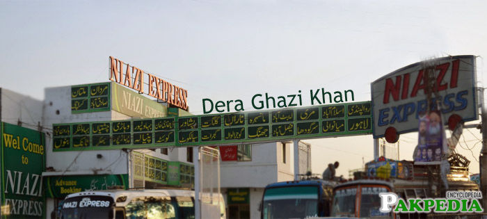 Niazi Express in Dera Ghazi Khan