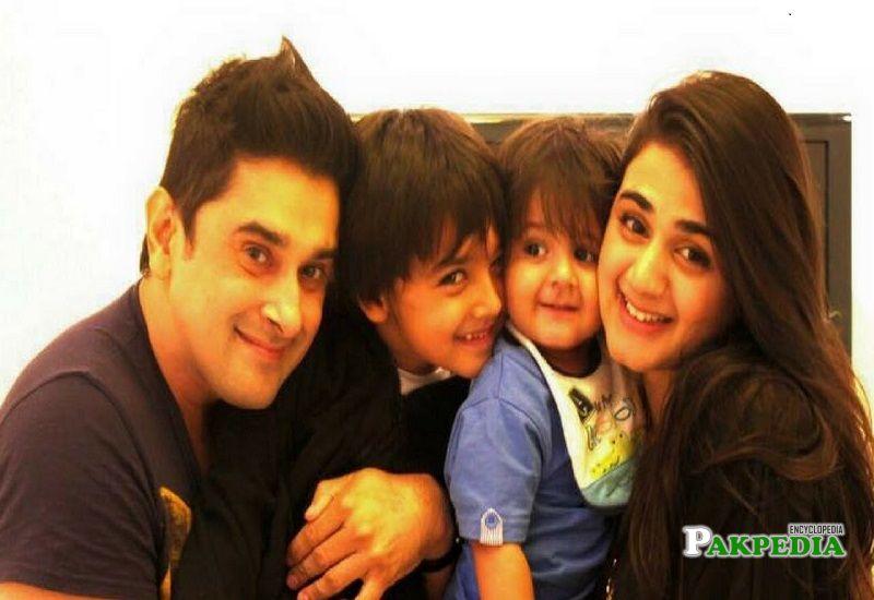 Hira Mani family