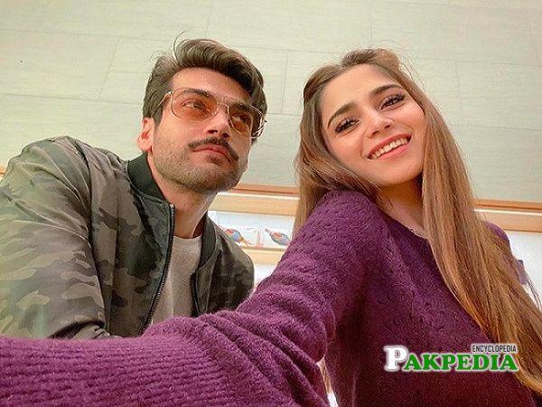 Shahbaz with Aima Baig