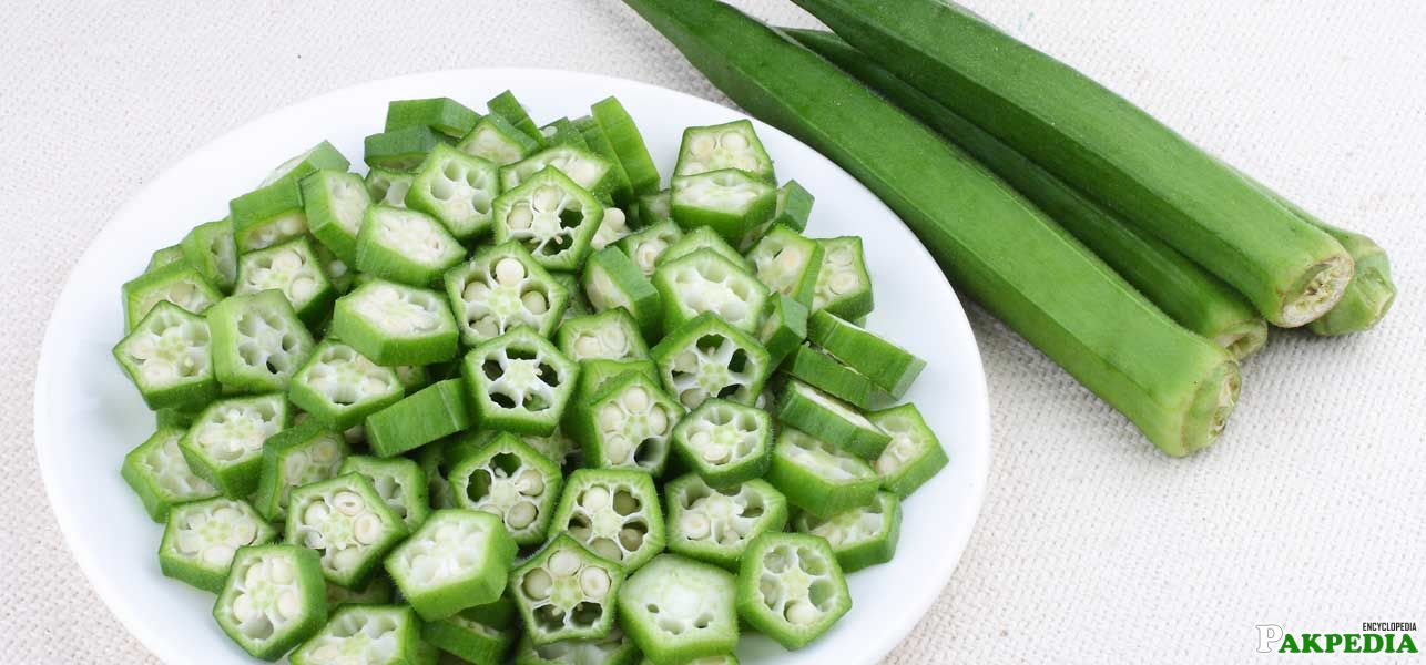 Lady finger, also known as okra or gumbo in English and bhindi in Hindi, is a green vegetable that is packed with nutrients. High in vitamins, mine