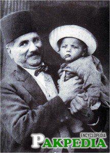 Allama Muhammad Iqbal son javed iqbal pic