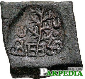 A coin of Taxila