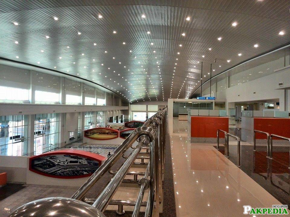 Multan International Airport Inner View