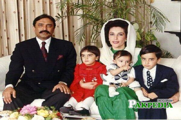 Asif Ali Zardari Family