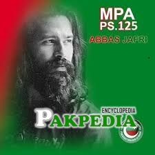 Abbas Jafri becomes MPA after winning General Elections 2018
