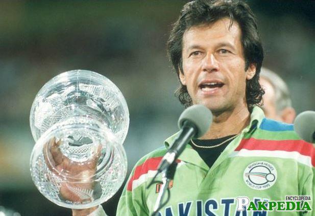 Imran Khan win World cup