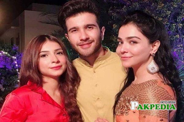 Humaima Malik Family