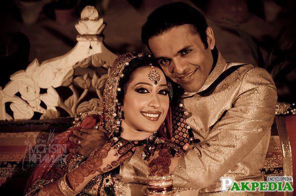 Meher Bukhari and Kashif Abbasi Wedding Picture