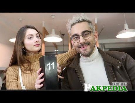 Neha Rajpoot with Bilal Khan