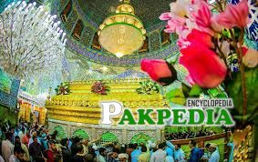 Beautiful view of Zareeh-e Mubarak