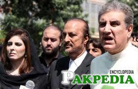 Babar Awan WITH Shah Mehmood