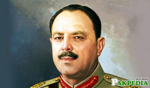 Ayub Khan Fiel Marshal