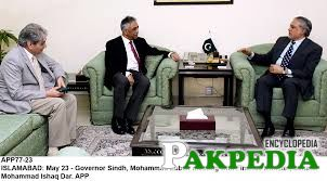 Zubair Umar Sitting with Ishaq Daar