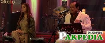 Rahat Fateh Ali Khan in Coke Studio