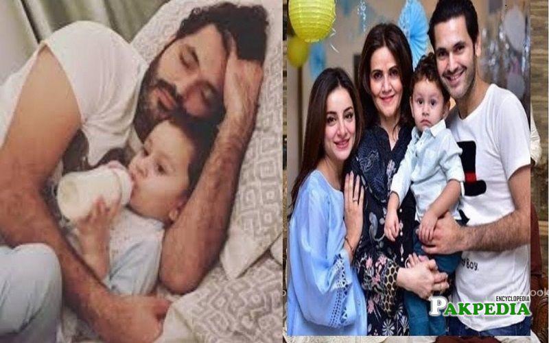 Fahad Mirza family