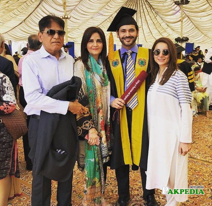 Fahad Mirza at his convocation