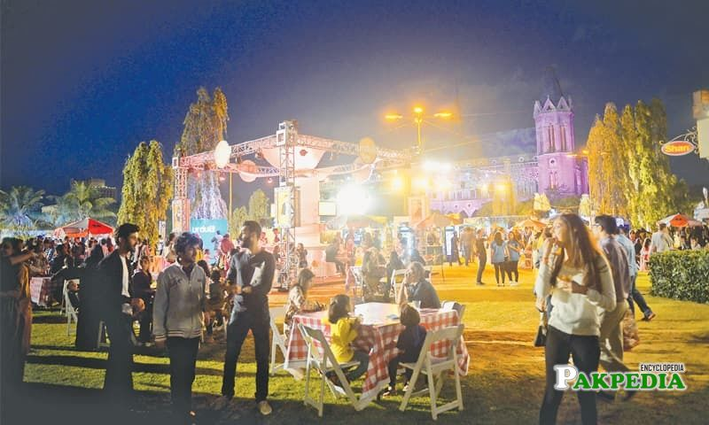 3 day eat festival at Frere hall