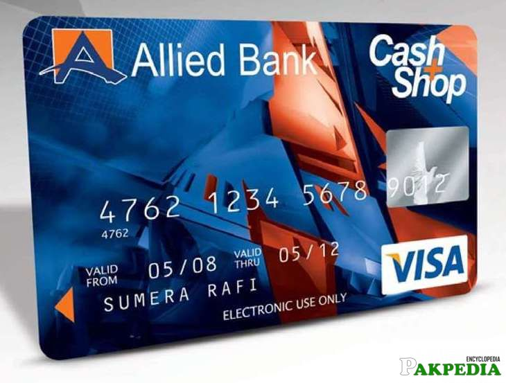 Allied Bank Limited ATM Card