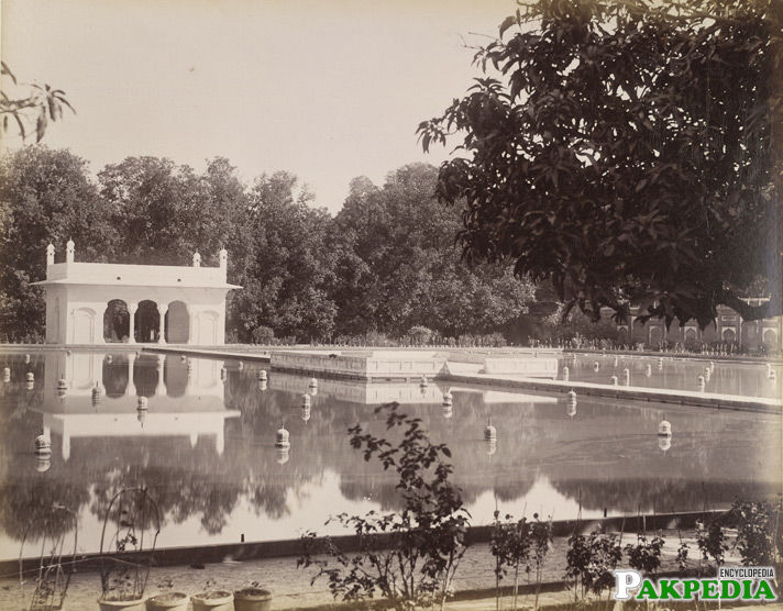 Shalimar Garden in 1895