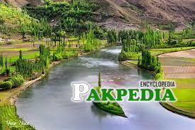 A Beautiful River In Gilgit Baltistan