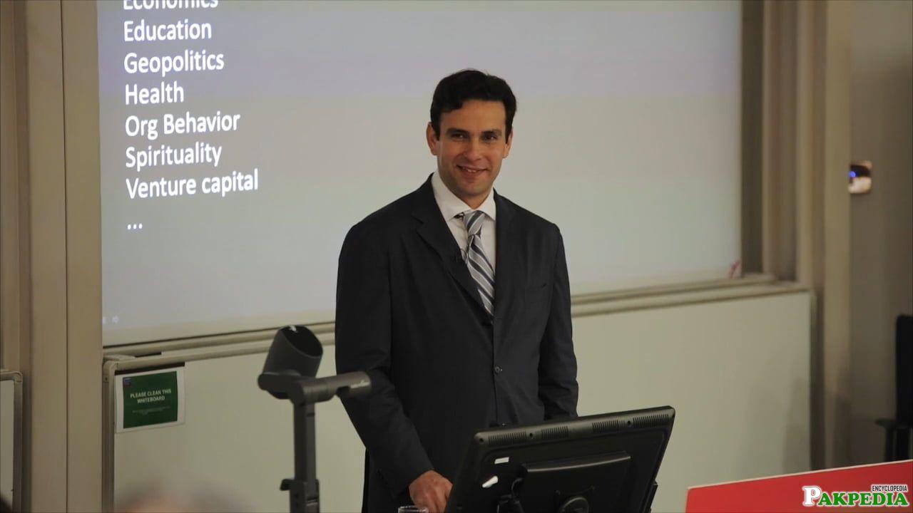 During a seminar