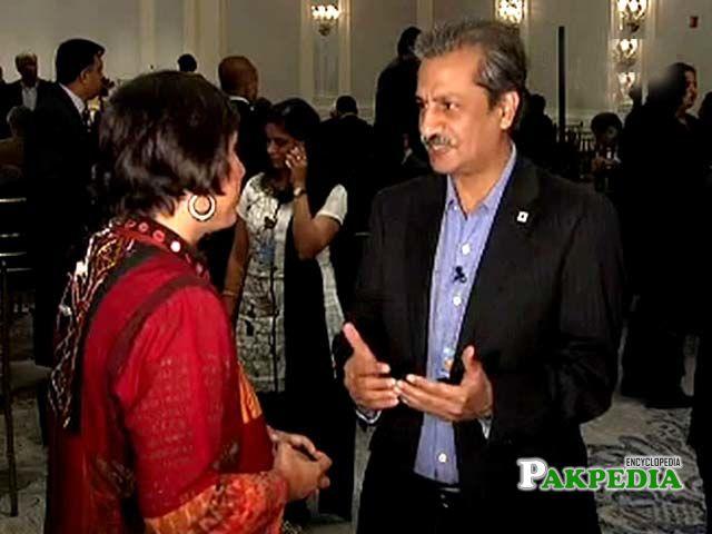 Pakistani journalist Absar Alam