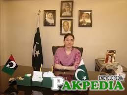 Sharmila Farooqi in office