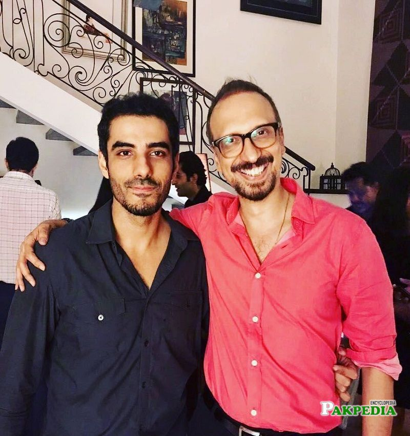 Asim Raza with Adeel hussain