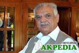 Iqbal Zafar Jhagra Personal Photo