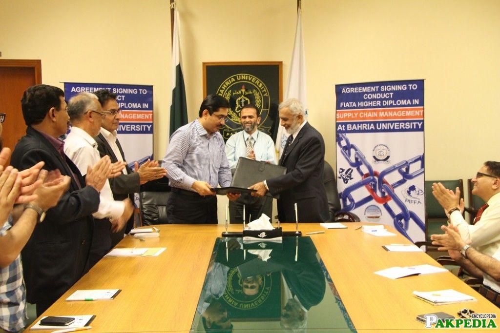 BU and PIFFA agreement
