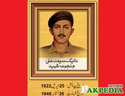 Saif Ali Janjua Shaheed
