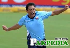 Azhar Mahmood is Runing