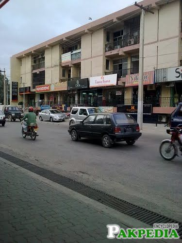 Sadar Bazar in multan cantt