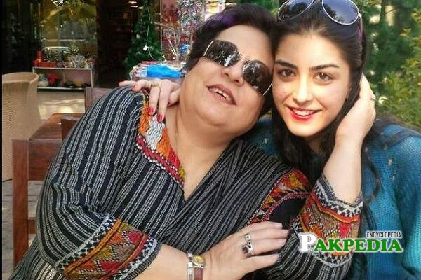 Shireen Mazari Daughter