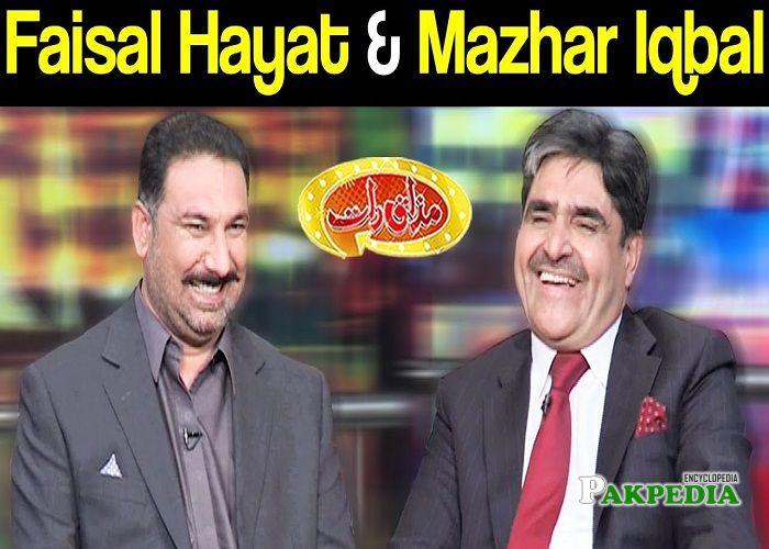 Chaudhry mazhar iqbal in Mazakraat