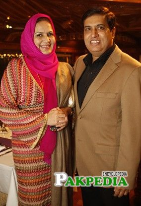 Another Photo with Anjum Schon