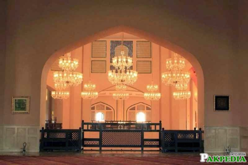 Pakistan's third largest mosque,