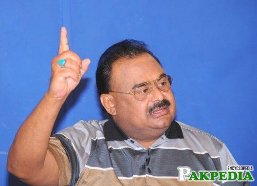 Altaf Hussain on speech
